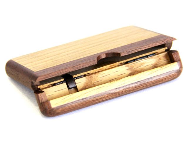木製カードケース 内側