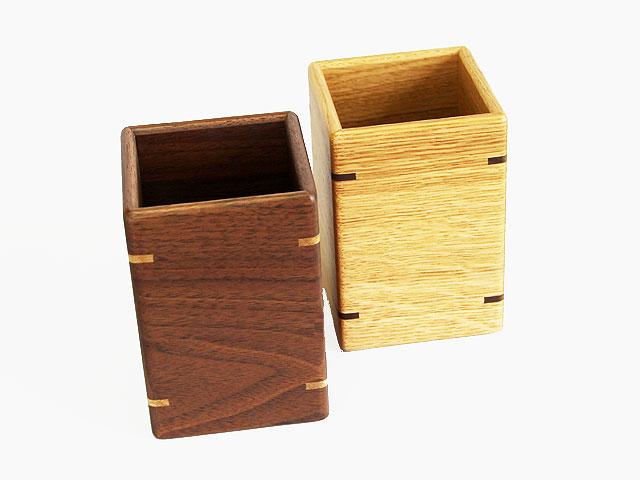 木製ペンスタンド