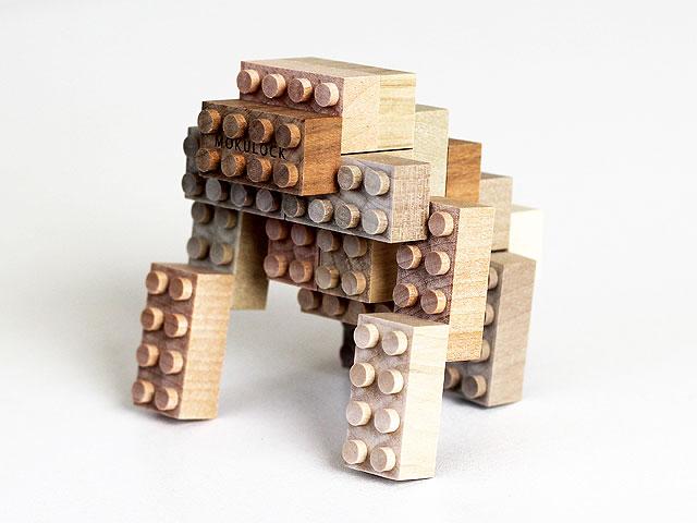 木製ブロック作品 ゴリラ
